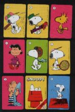 Collectible Cards game. Snoopy